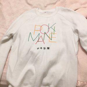 White Pokimane Sweatshirt
